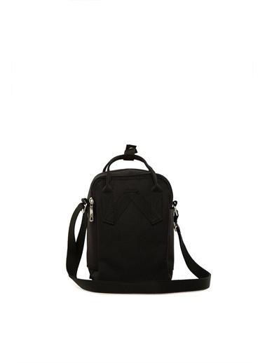 Bagmori Kadın Çapraz Kare Paraşüt Mini Çanta M000004373 Siyah